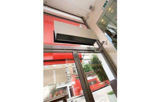 Air Curtain Zen Zetter In London Restaurant By Curtains Www Airtecnics Com