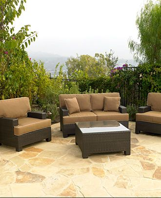 Antigua Outdoor Patio Furniture Seating Sets Pieces Patio