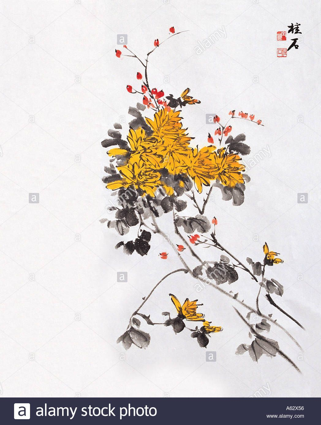 Download This Stock Image Korean Painting