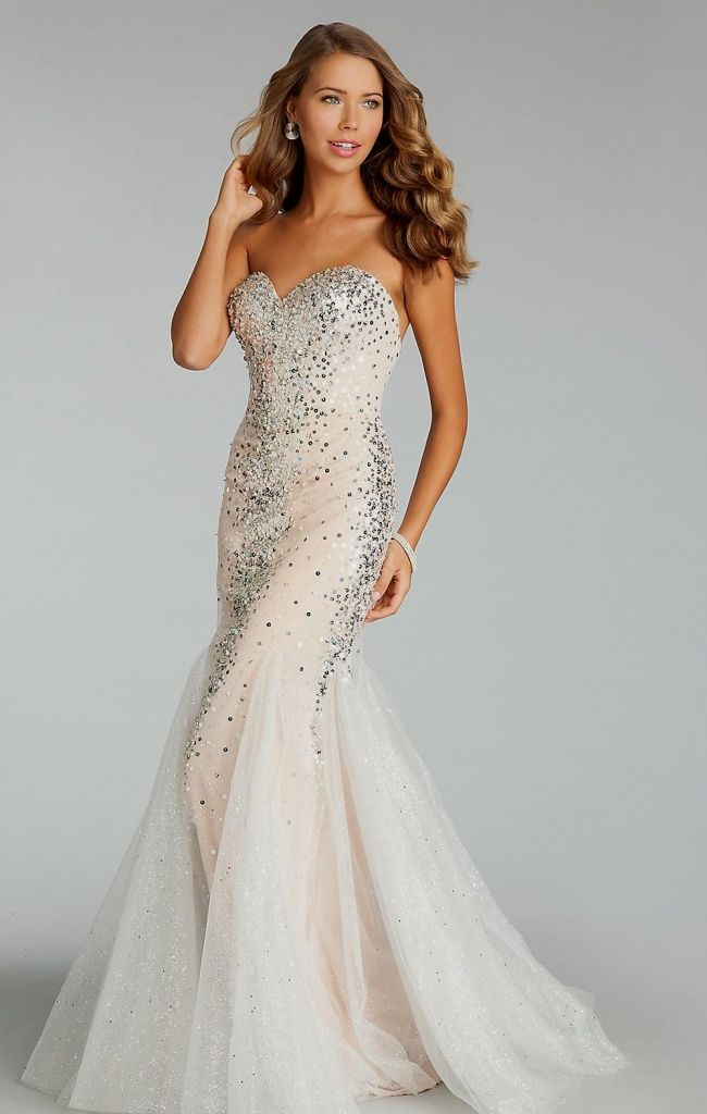 white sequin prom dress - most expensive prom dress Check more at ...