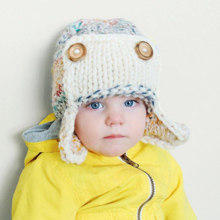 THE HUDSON AVIATOR HAT - KNITTING PATTERN (With images ...