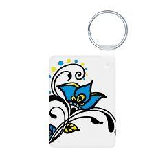 Swedish Flower Keychains