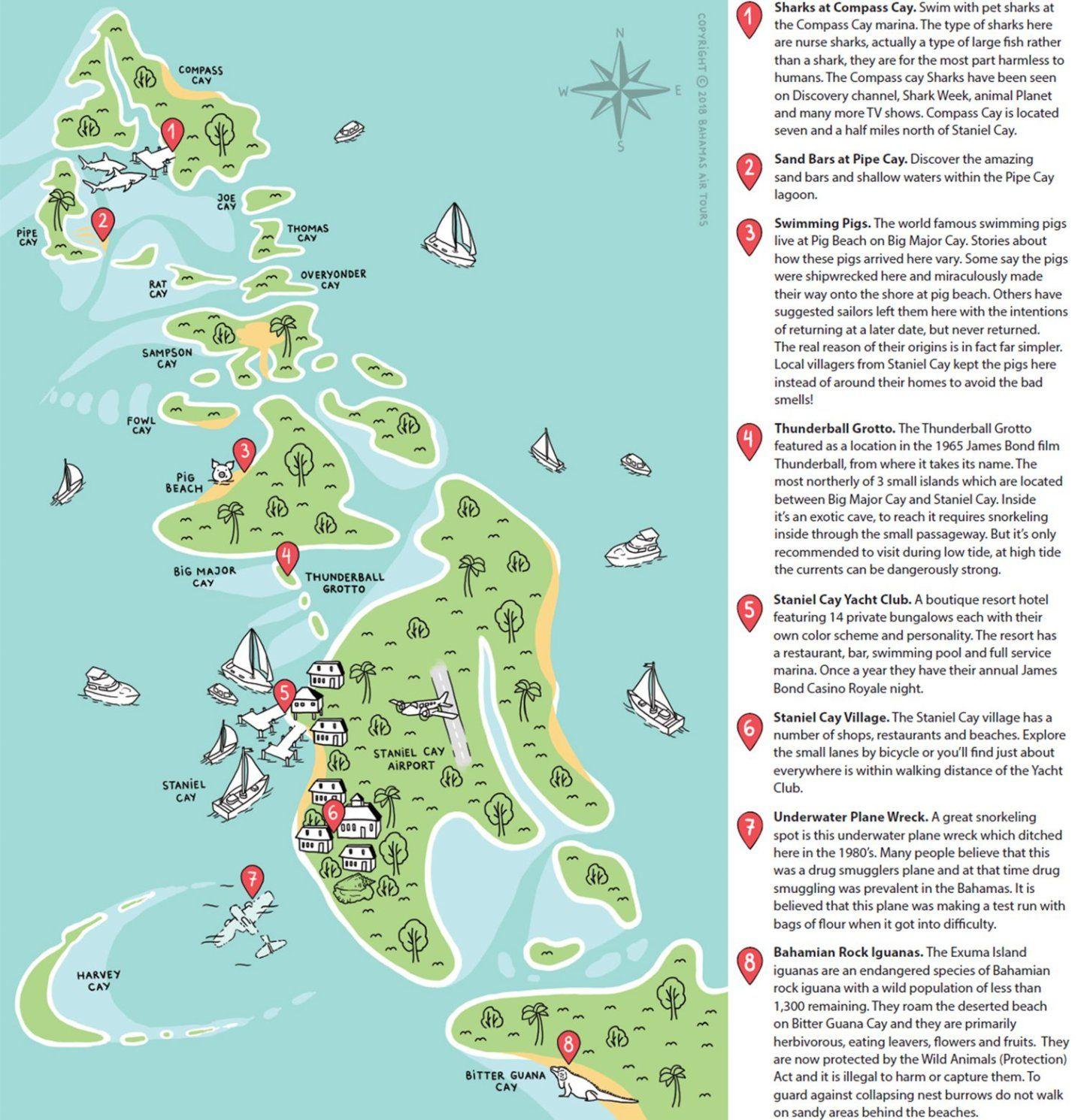 Nassau to Exuma Day Trip | Travel inspiration | Pig beach