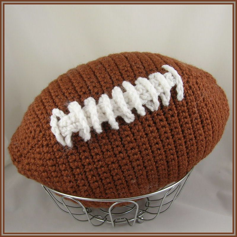 Nfl Style Football Toy Free Pattern Crochet Pinterest Free