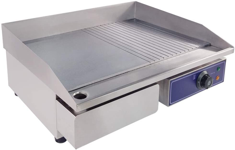 Commercial Electric Griddle Flattop Grillhot Plate Stainlesssteel