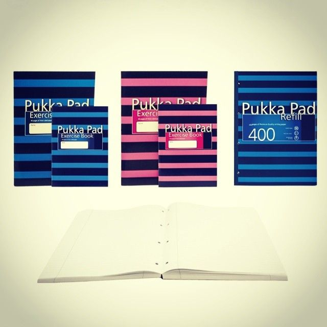 Pukka Pad - New additions to our popular navy range #navy
