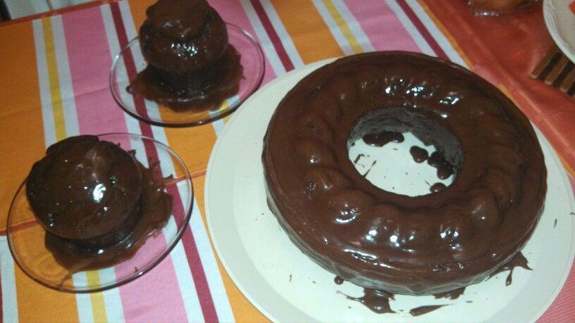 "Cake + coffee + chocolate = ""Pastel Chocolate Moka"" by Faby :p"