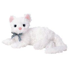 TY Beanie Baby - STARLETT the White Cat  Toy   7.39 I miss this little  girl.... I need to go get my beanie babies from home I miss them all !  ( 6af1ec4a349e