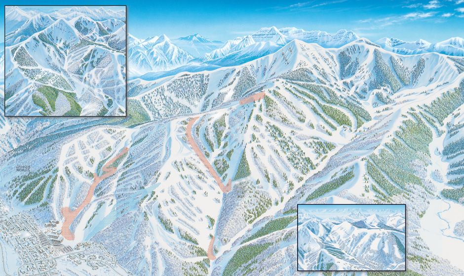 Check Out The Trail Map For Park City Mountain Resort Park City - Park city map