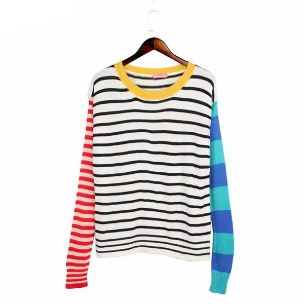 """""""STRIPES FOR DAYS"""" SWEATER"""