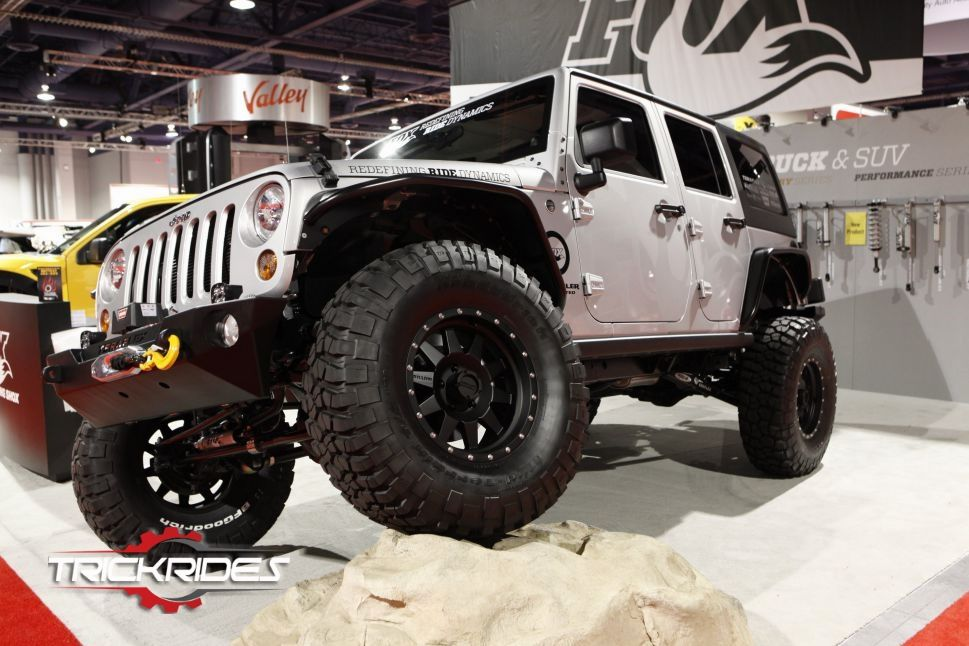 2011 Jeep Wrangler by Fox Racing Shox at SEMA show