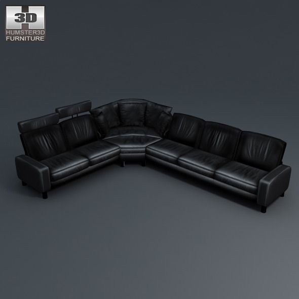 Space Corner Sofa Ekornes Stressless 3d Model Sofa Corner