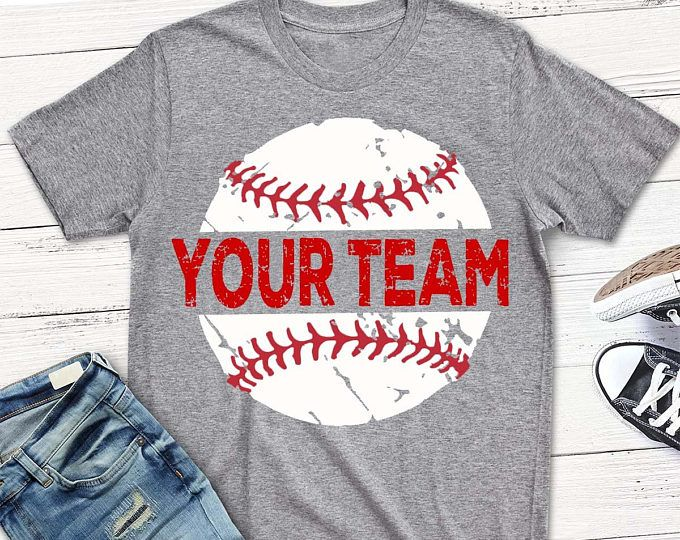 Photo of Baseball SVG, Distressed svg, Baseball shirt, grunge svg, png, eps, Baseball Mom, Your team, Download, digital transfer, clip art, cut file