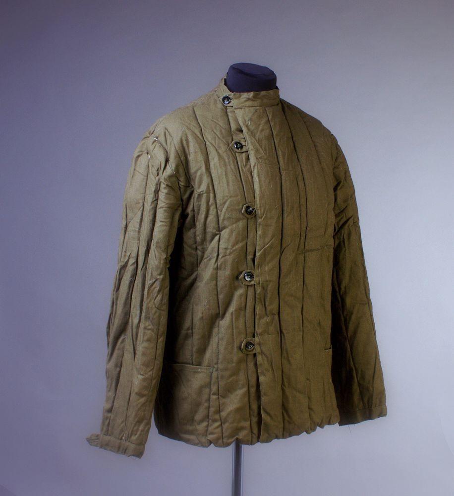 b23fec58fd4a Russian MILITARY WW2 WINTER Padded quilted Jacket UNIFORM Telogreika size S  M L