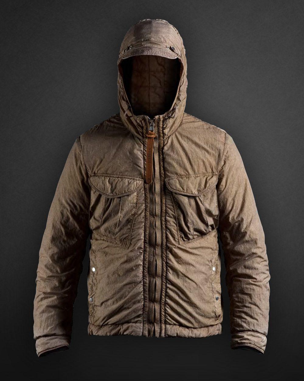 NEMEN NMN_I14016 HOODED OVERSHIRT JACKET Jackets, Winter