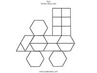 Transportation Pattern Block Mats | Pattern blocks, Patterns and ...