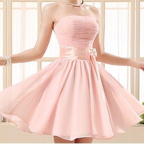 Imagen vía We Heart It #cutedress #dress #girl #girly #pink #rosy