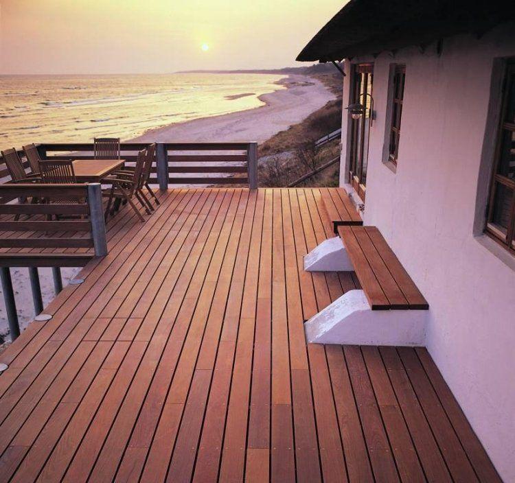 Terrasse Aus Bangkirai Holz 25 Tolle Design Ideen Fur Den Garten