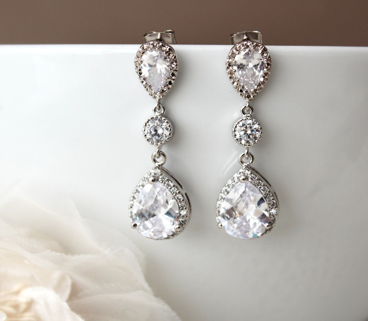 bridal portia chandelier coin full wedding beach earrings pearl
