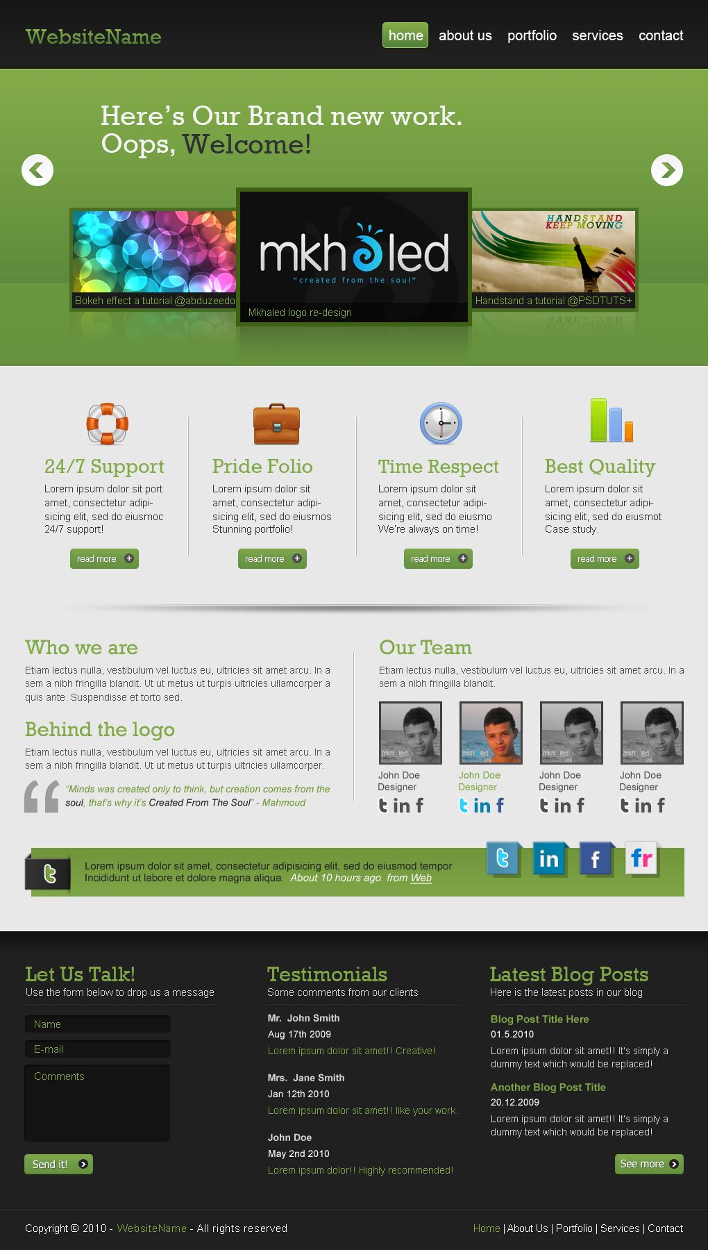 Create A Professional Web 2 0 Layout Tuts Design Ilration Tutorial