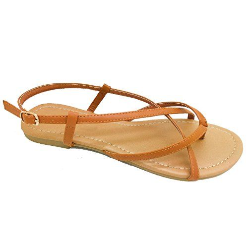 Women's Summer Gladiator Criss Cross Strappy Flat Slingba... https://www.amazon.com/dp/B01C0KLC9U/ref=cm_sw_r_pi_dp_.MaLxbAX4RNW1