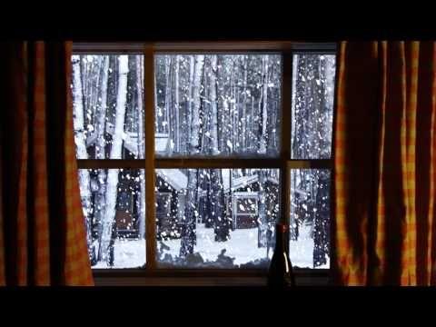 Winter Window Snow Scene 4k Living Wallpaper With Ambient