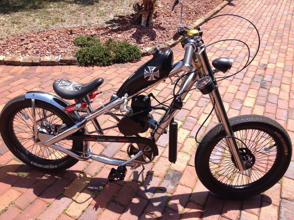 Bicycle Custom Motor West Coast Chopper West Coast