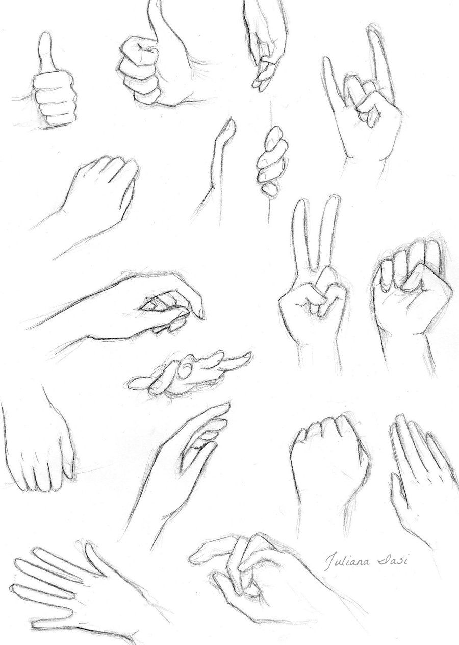 Hands Positions Drawing Anime Hands Hand Drawing Reference Deviantart Drawings
