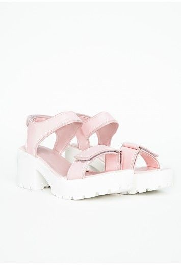 Glenda Contrast Strappy Sandals - Footwear - Sandals - Missguided