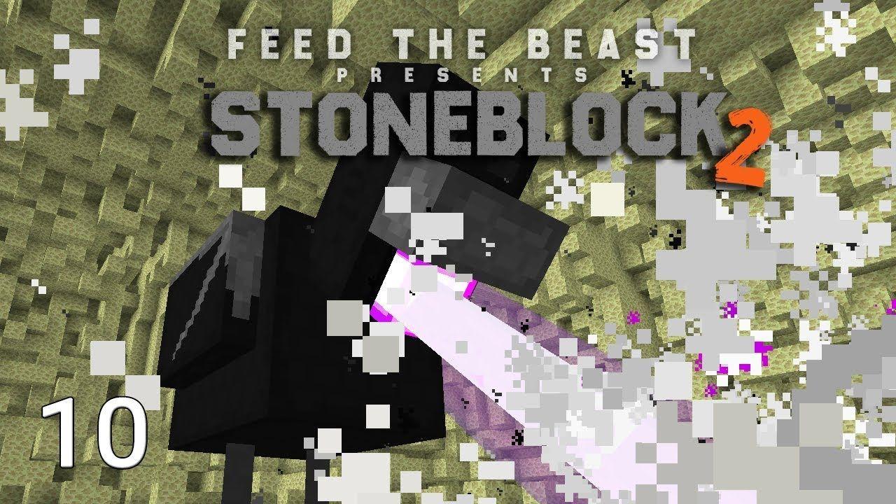 FTB Stoneblock 2 Ender Chicken Boss Destruction