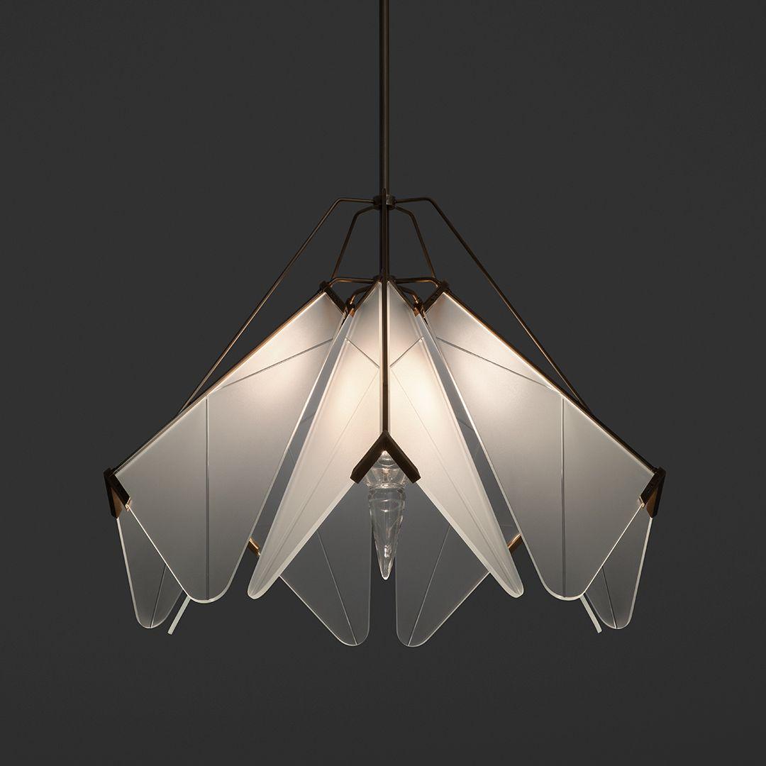 Bloom Pendant Lamp Design Ceiling Mounted Lights Glass Lighting