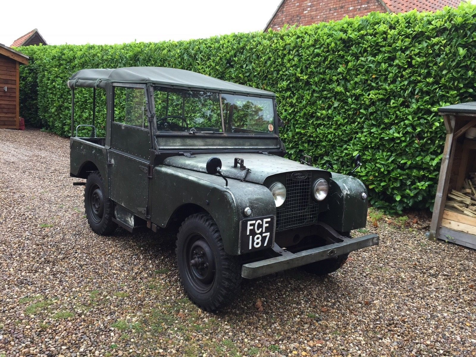 Land Rover Series 1 1952 80inch very rare 1 family owner ...