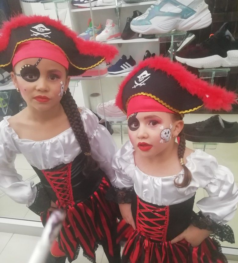 Disfraz De Pirata Para Niña Disfraz De Pirata Disfraz Pirata Niño Disfraz Casero De Pirata