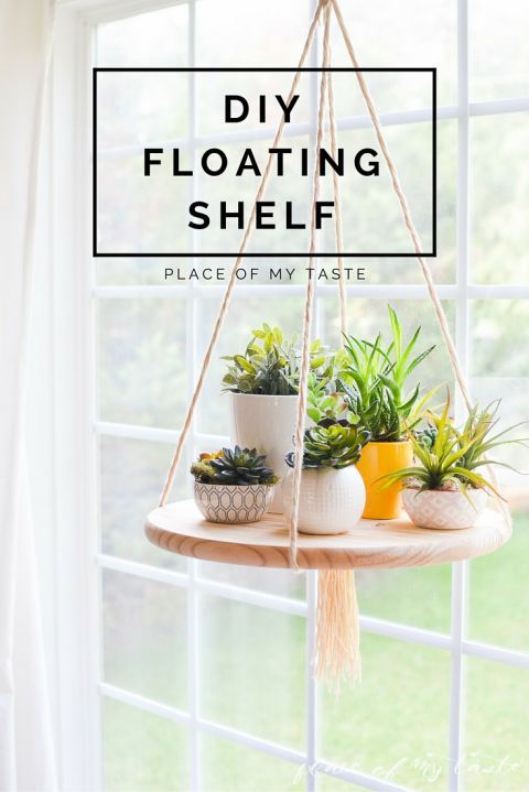 Hang A Floating Shelf In Your Kitchen Or Living Room For A Cool And Simple  Decoration