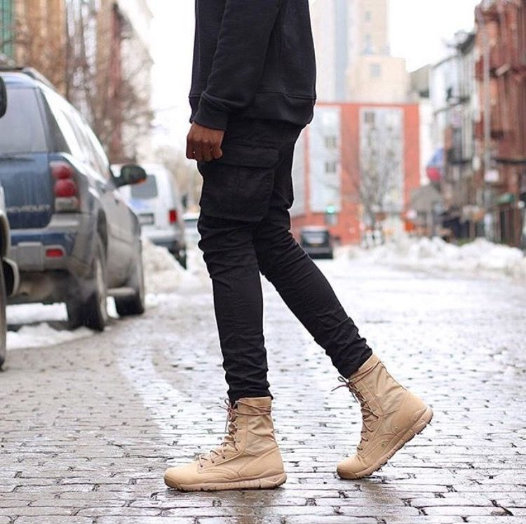 Nike Sfb Military Boot In 2019 Military Boots Outfit