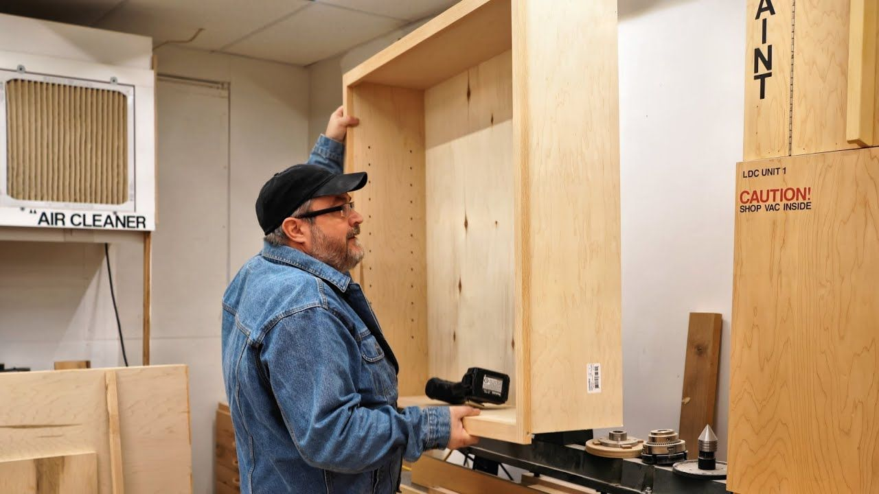Installing The Wall Cabinets - YouTube in 2020   Wall ...