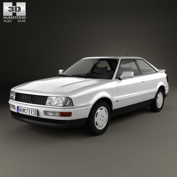 Audi Coupe (8B) 1988   Audi coupe, Audi, Coupe