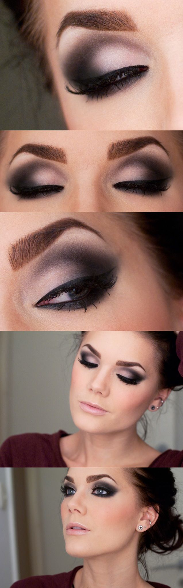 Smoky Eyes Perfect for Samba Makeup