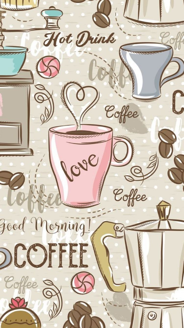 Wallpaper Brown Iphone 6 In 2020 Coffee Wallpaper Iphone Coffee Wallpaper Android Wallpaper