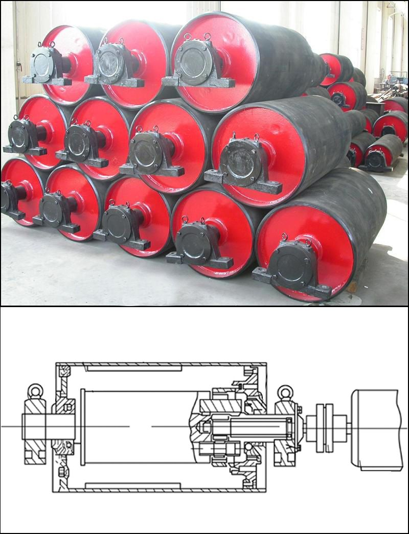 Common Failure Diagnosis Of Motorized Pulley Conveyor Pulley Conveyor Belt