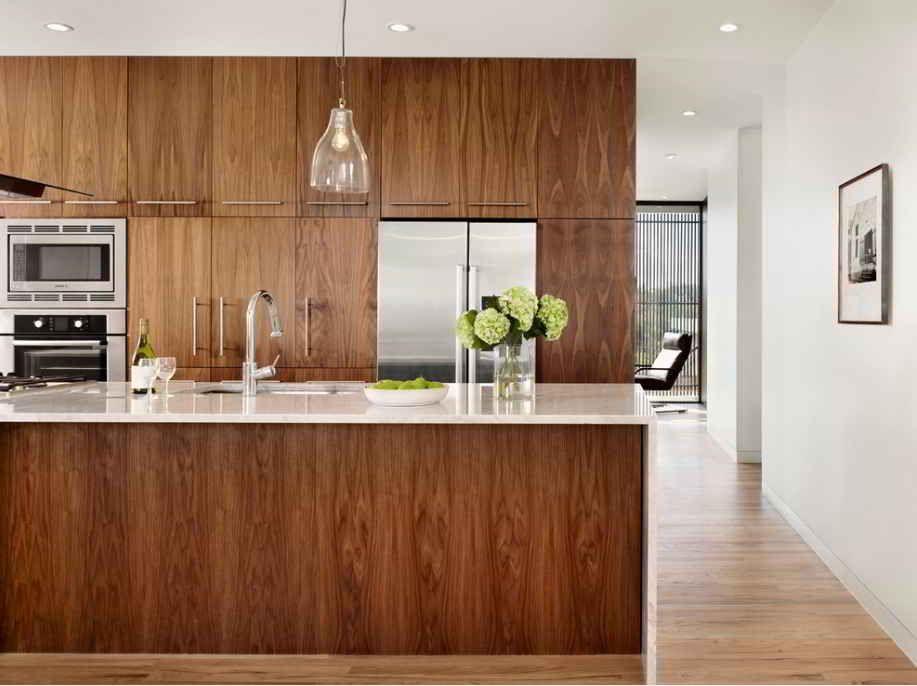 http www hometizer com wp content uploads 2015 03 modern walnut kitchen jpg walnut kitchen on kitchen cabinets modern contemporary id=83528