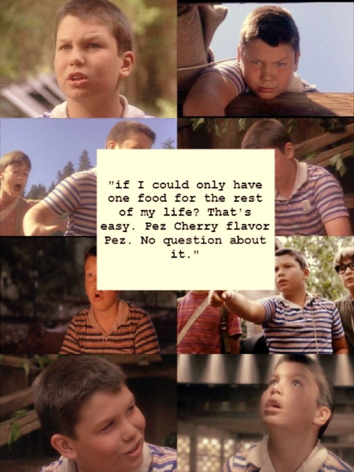 Vern...       Stand by me quote