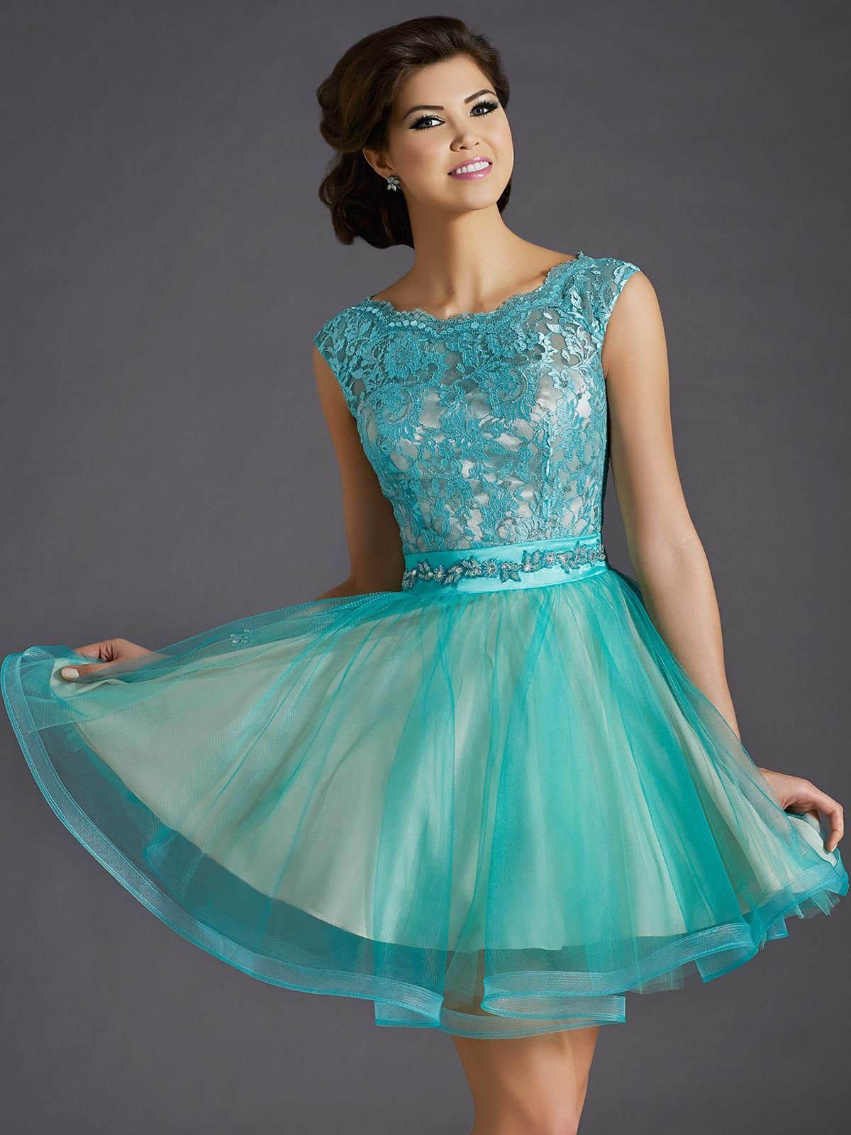 Clarisse Designs 2015 Homecoming Collection: Mint & Nude/ Sizes 00 ...