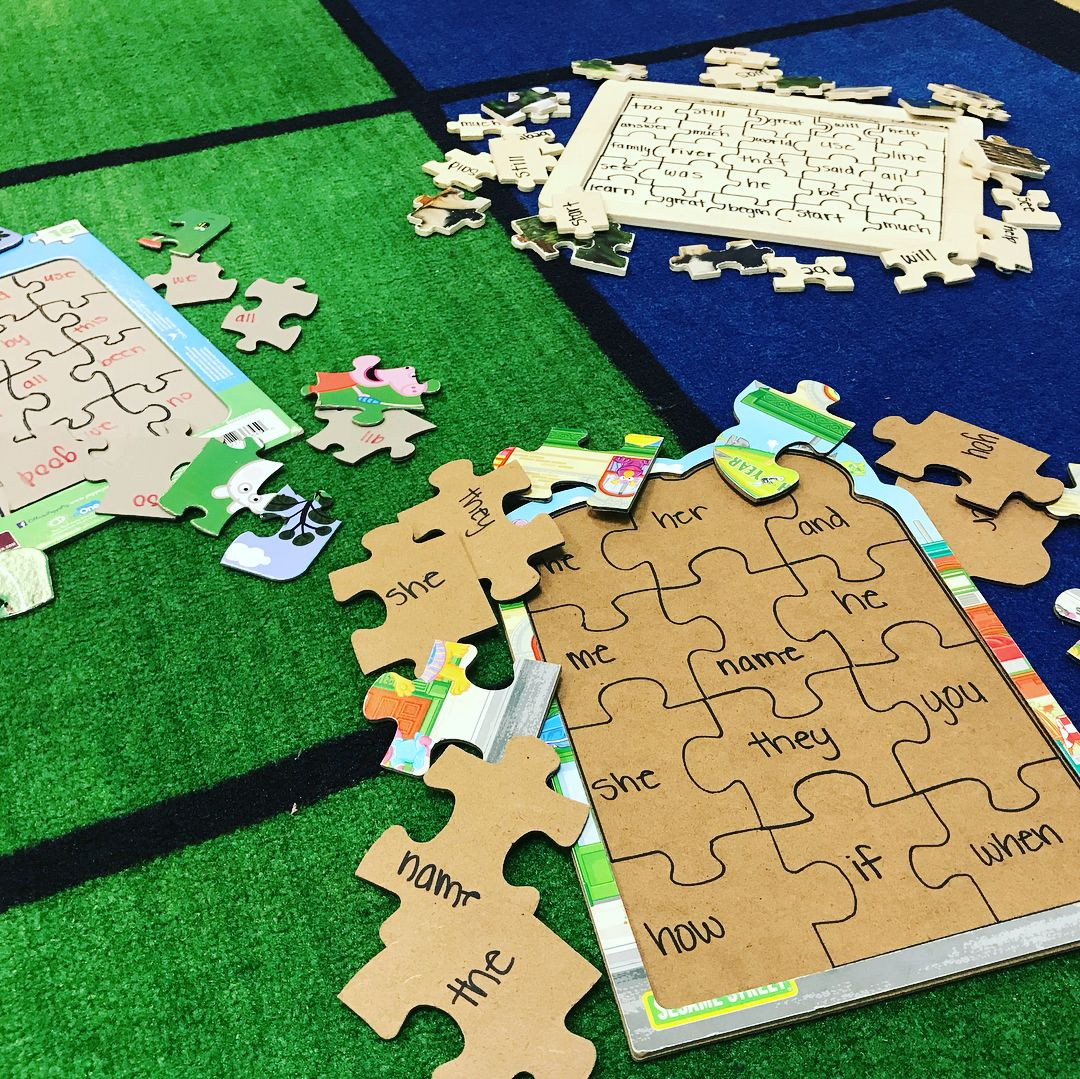 Creating These Sight Word Puzzles Are Quick And Easy We