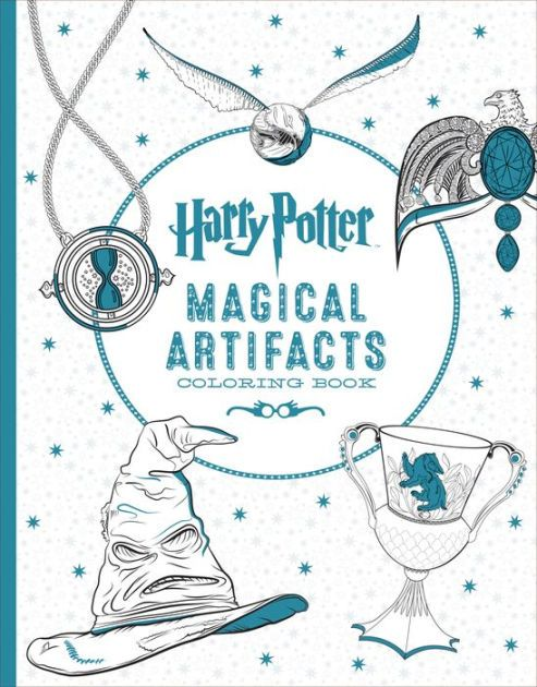 Harry Potter Magical Artifacts Coloring Book By Scholastic