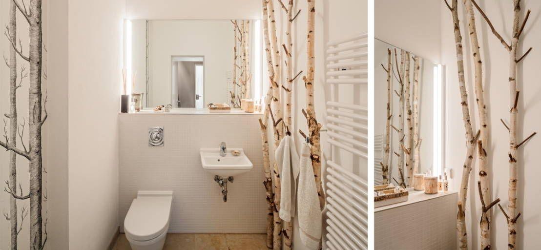 7 Fantastische Ideen Fur Kleine Bader Ohne Fenster Homify Badezimmer Ohne Fenster Bad Einrichten Gaste Wc Modern