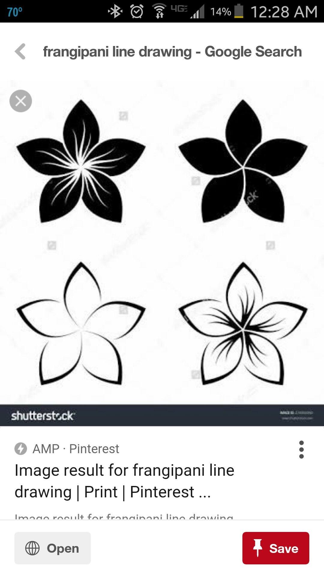 05b1c83cb Explore millions of stock photos, images, illustrations, and vectors in the  Shutterstock creative collection. Tatuagem Aloha, Plumeria Flower Tattoos  ...