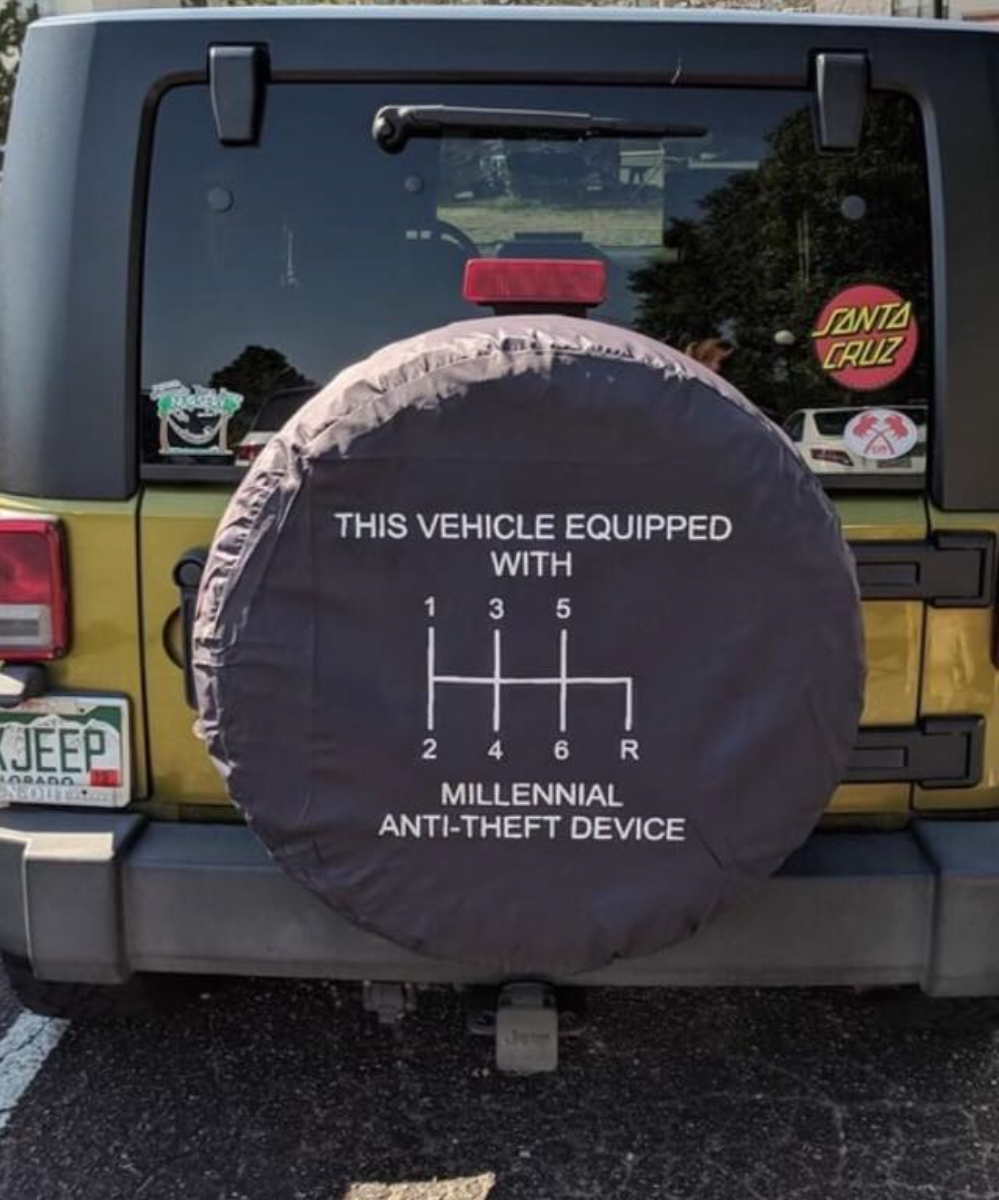 This Vehicle Is Equipped With Millennial Anti Theft Device Johngstevens Quoteoftheday Motivation Motivate Jeep Jeeping Succes Jeep Memes Jeep Car Humor