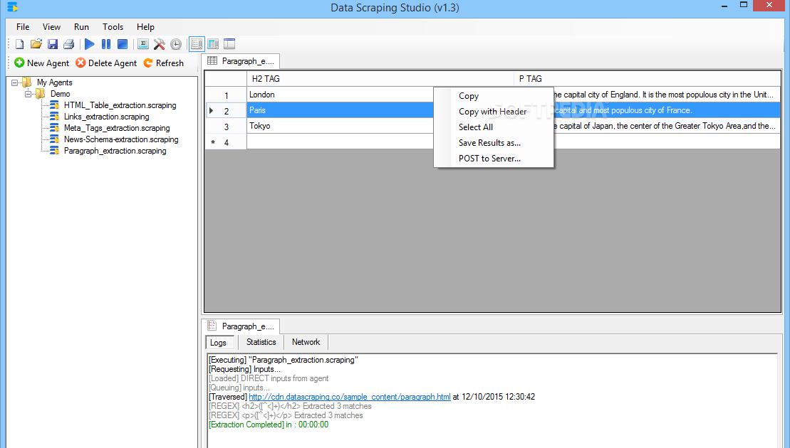 Get Data Scraping Studio 2 6 Enterprise Cracked Free Download