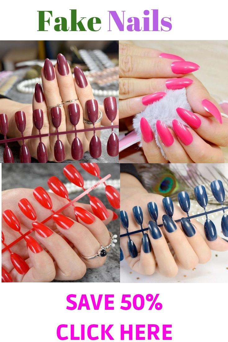 how to apply acrylic nails without glue